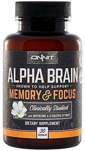 Onnit Alpha Brain pills